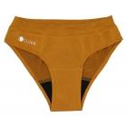 Menštruačné nohavičky LUNA - horčicovo zlaté