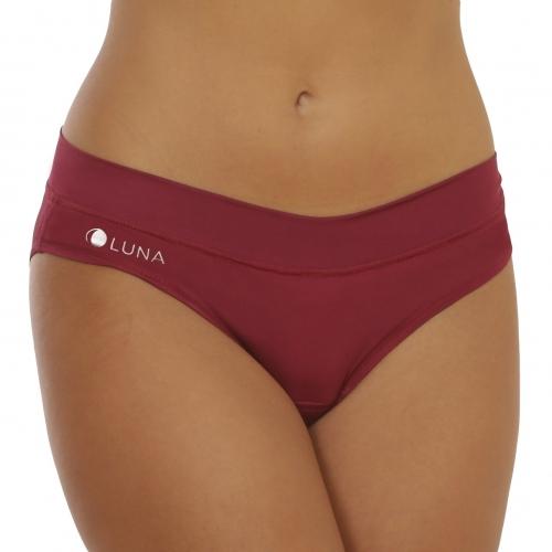 Menštruačné nohavičky LUNA - bordó