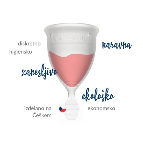 Menstrualna skodelica LUNACUP - prednosti